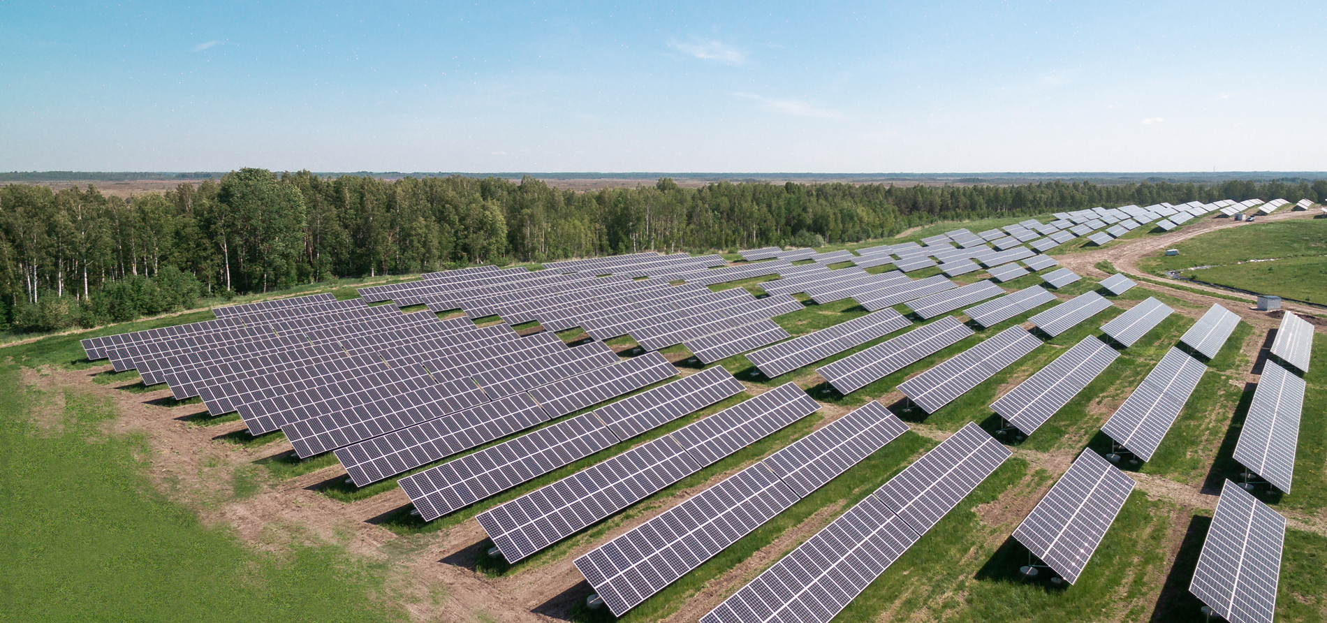 Elenger solar power complex in Pärnu, Estonia